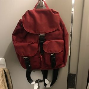 Red Rouge Small Urban Outfitters Backpack Purse